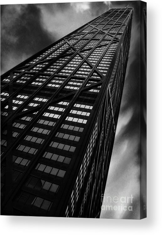 City Acrylic Print featuring the photograph Limitless by Dana DiPasquale