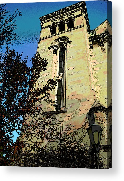 Architecture Acrylic Print featuring the photograph Architecture Series by Ginger Geftakys