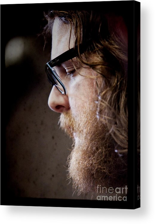 Andy Hull Acrylic Print featuring the photograph Andy Hull Of Manchester Orchestra by Dustin K Ryan