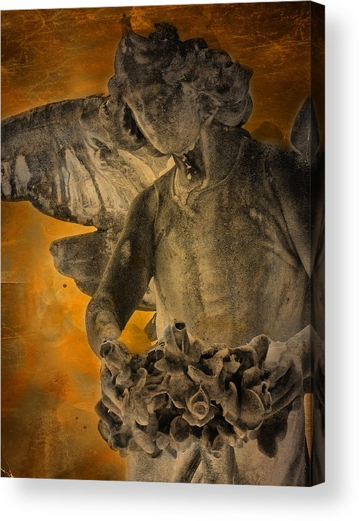 Marble Acrylic Print featuring the photograph Angel Of Mercy by Larry Marshall