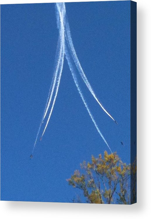 Photography Acrylic Print featuring the photograph Angels Of The Sky by Jennifer Briggs