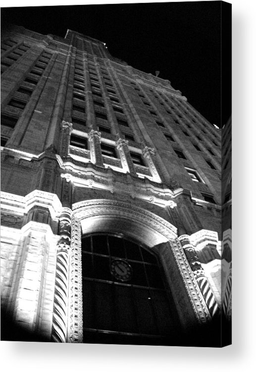 Buildings Acrylic Print featuring the photograph Architecture by Audrey Venute