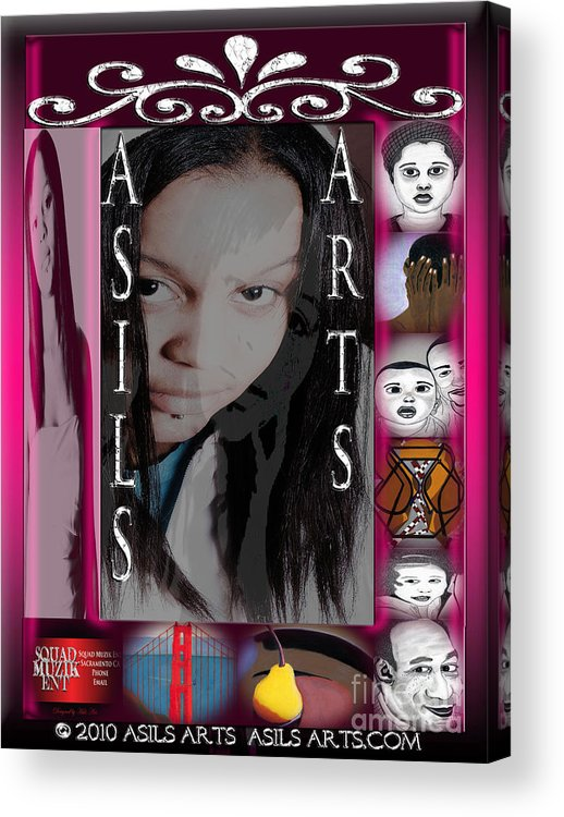 Graphic Art & Digital Designs. Acrylic Print featuring the digital art Asils Arts 2010 by Asils Arts