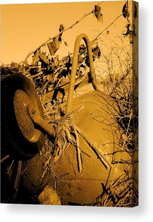 Photograhy Acrylic Print featuring the photograph Barrow by Jeff DOttavio