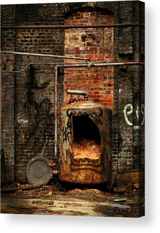 Factory Acrylic Print featuring the photograph Belly Of The Beast by J K York