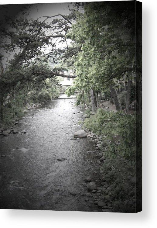 Creek Acrylic Print featuring the photograph Blaim It On The Rain by Jessica Burgett
