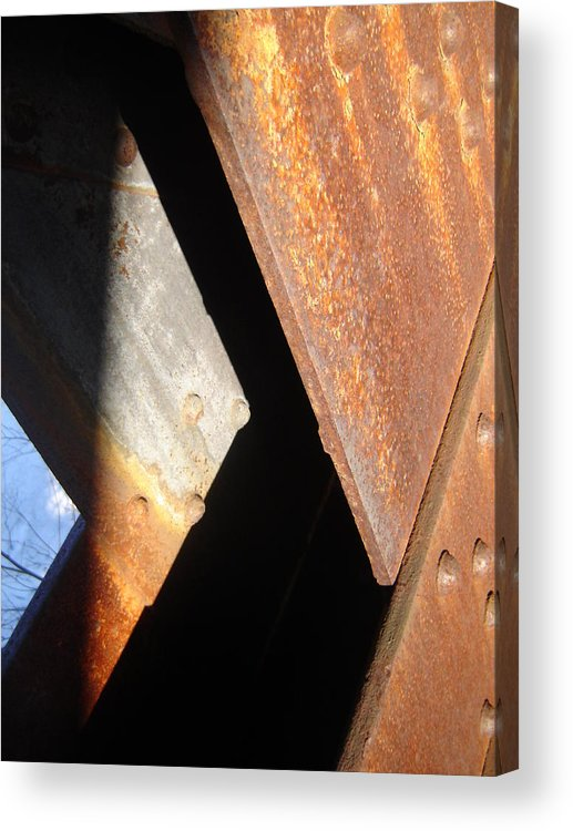 Architectural Acrylic Print featuring the photograph Blue Angle by Dean Corbin