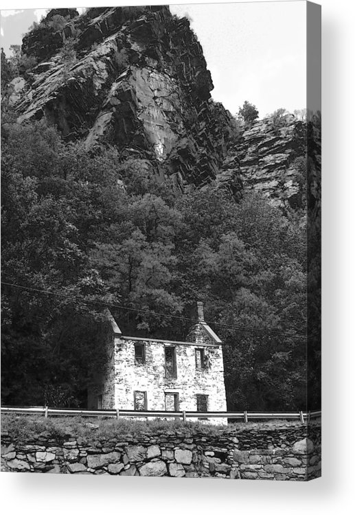 Shenandoah River Acrylic Print featuring the photograph Canal House 33 by Michael L Kimble