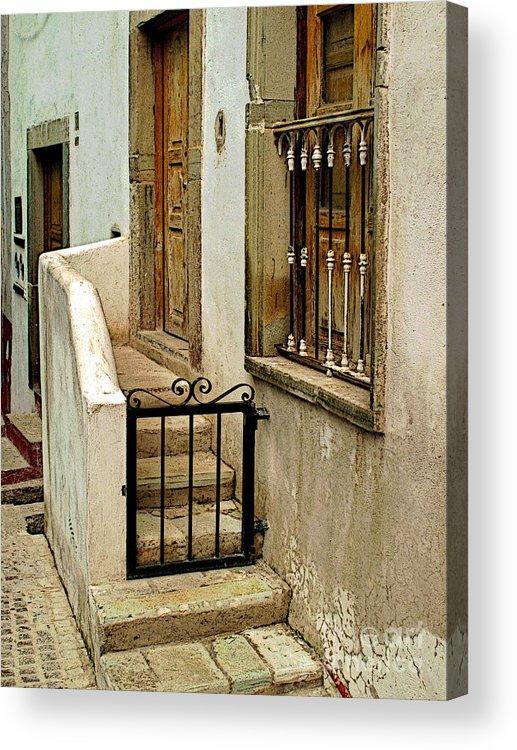 Darian Day Acrylic Print featuring the photograph Casa De Crema by Mexicolors Art Photography