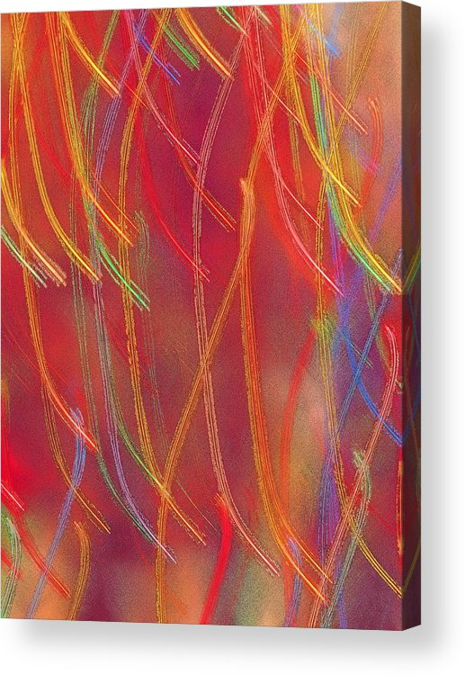 Abstract Acrylic Print featuring the photograph Celebration by Gaby Swanson