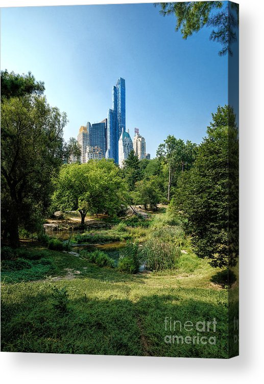 New Acrylic Print featuring the photograph Central Park Ny by Daniel Heine