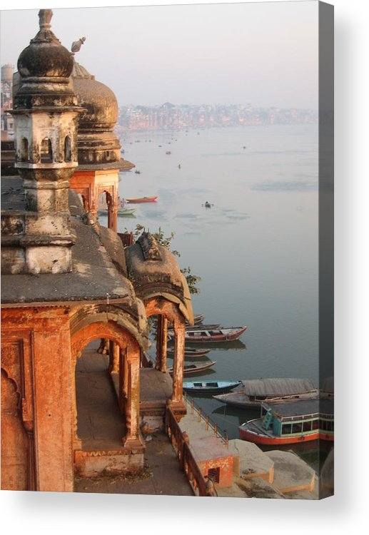 Chet Singh Acrylic Print featuring the photograph Chet Singh Fort by Art Nomad Sandra Hansen
