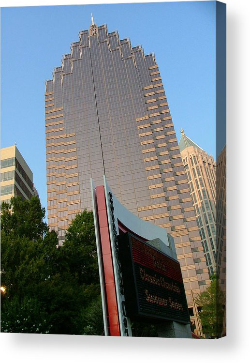 Street Scape Acrylic Print featuring the photograph Classic Chastain by Donna Thomas