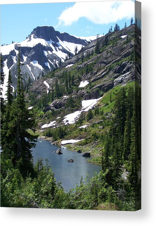 Mountian Acrylic Print featuring the photograph Coleman Pinnacle by Gene Ritchhart