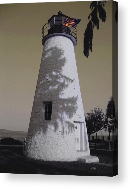 Concord Point Acrylic Print featuring the photograph Concord Point Light by Gordon Beck