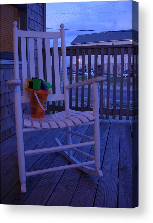 Beach Acrylic Print featuring the photograph Days End by Robert Boyette