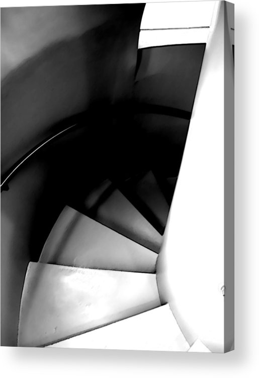 Steps Acrylic Print featuring the photograph Descent by Jim DeLillo