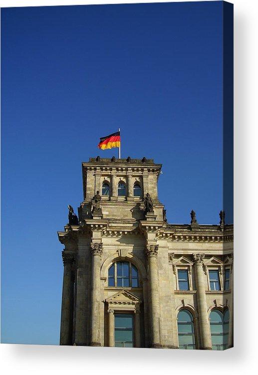 Deutscher Bundestag Acrylic Print featuring the photograph Deutscher Bundestag II by Flavia Westerwelle