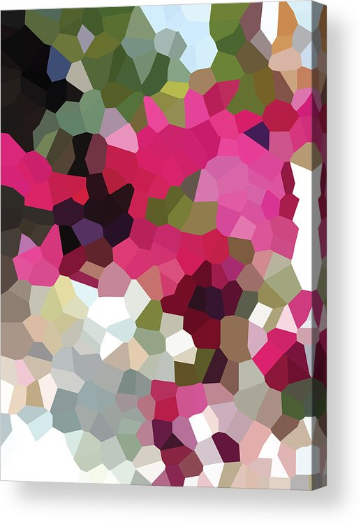 Digital Artwork Acrylic Print featuring the digital art Digital Artwork 703 by Maureen Lyttle