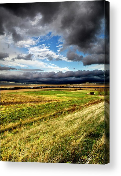 Horizons Acrylic Print featuring the photograph Drivin by Phil Koch