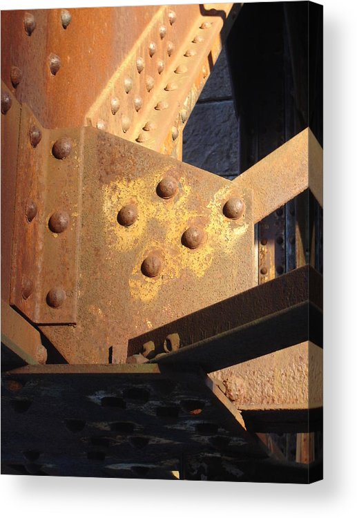 Architectural Acrylic Print featuring the photograph Elbow by Dean Corbin