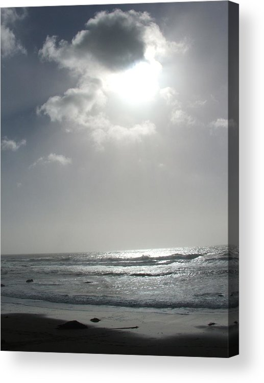 Black And White Acrylic Print featuring the photograph Enlightened by Shari Chavira
