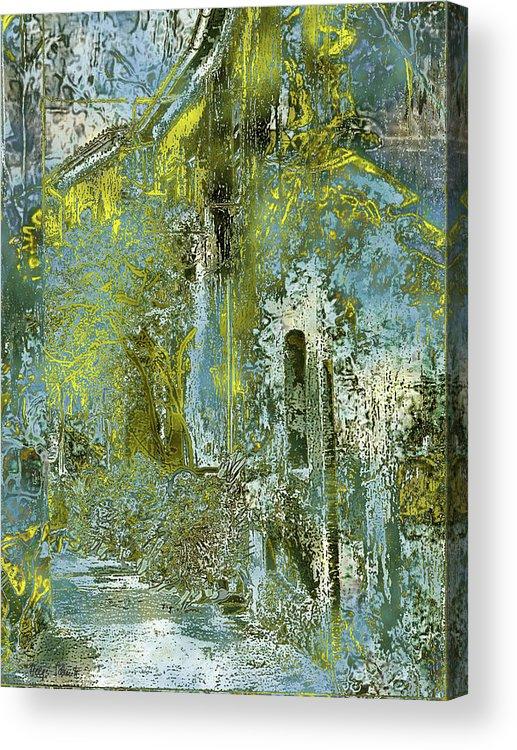 Photopainting Acrylic Print featuring the digital art Etrurian Lane by Helga Schmitt