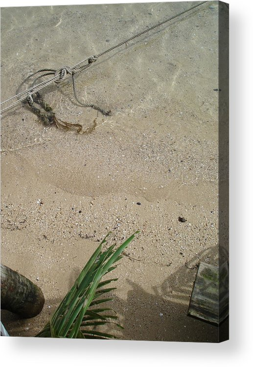 Landscape Acrylic Print featuring the photograph Gentle Waters by Chad Natti