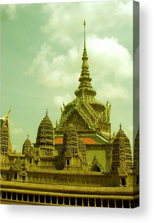 Grand Palace Acrylic Print featuring the photograph Grand Palace by Jennifer Ott