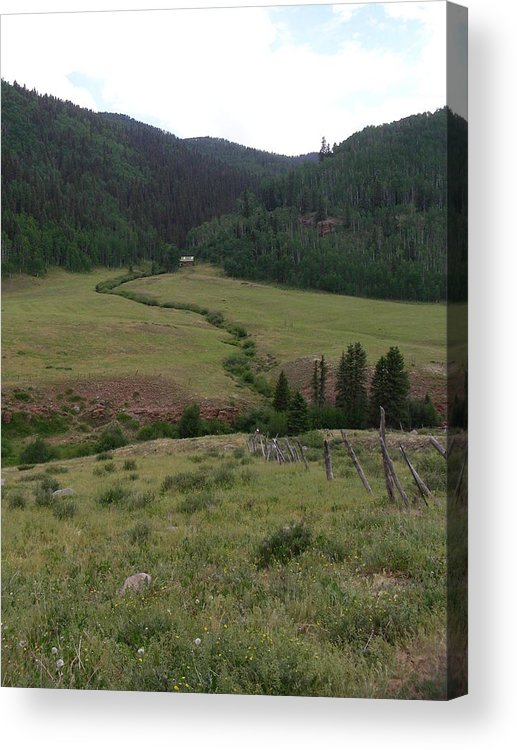 Nature Acrylic Print featuring the photograph Grazing Lands by Peter McIntosh