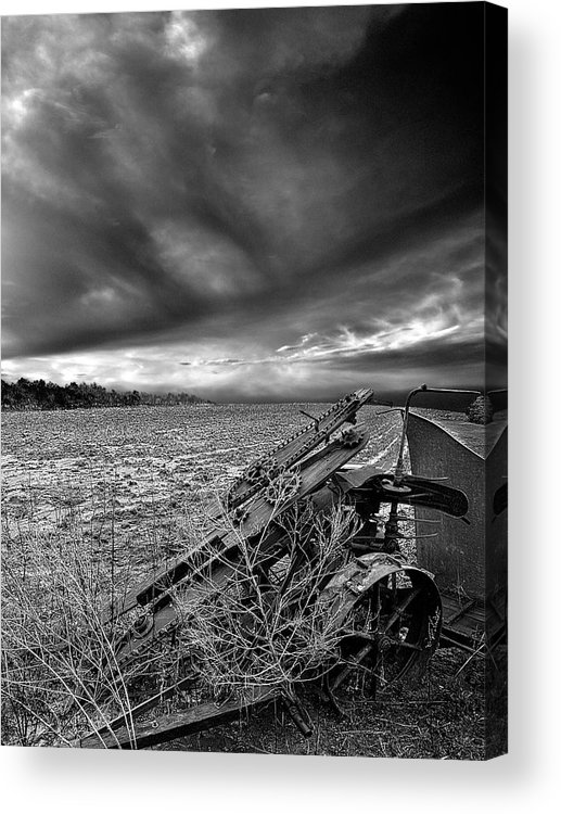 Horizons Acrylic Print featuring the photograph Home Soil by Phil Koch