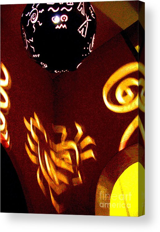 Darian Day Acrylic Print featuring the photograph House Of Runes 2 By Darian Day by Mexicolors Art Photography