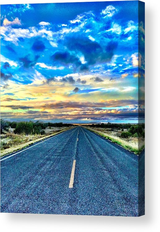 Sunset Acrylic Print featuring the photograph Into Nirvana by Brad Hodges