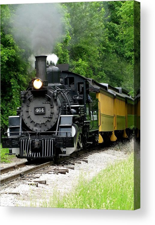 Hovind Acrylic Print featuring the photograph Iron Horse by Scott Hovind