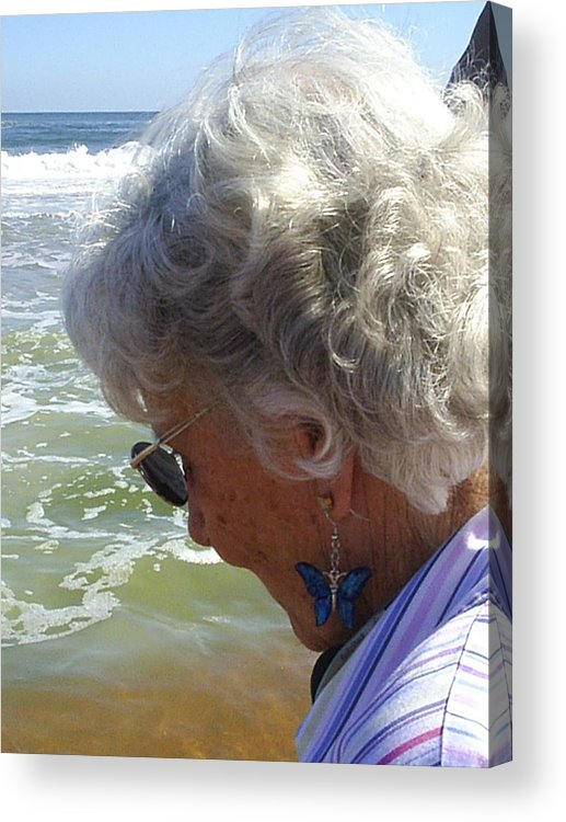 Grandmother Acrylic Print featuring the photograph My Grandmother by Scarlett Royal
