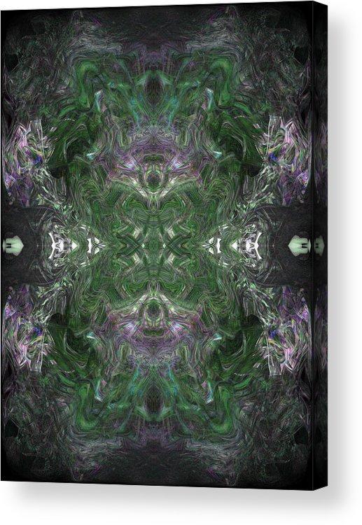 Deep Acrylic Print featuring the digital art Oa-4437 by Standa1one