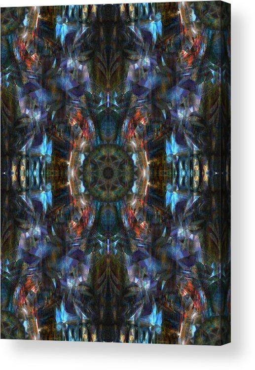 Deep Acrylic Print featuring the digital art Oa-4439 by Standa1one