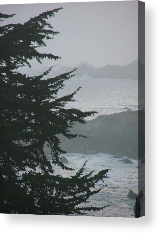 Sea Scape Acrylic Print featuring the photograph Pacific Grove Early Am by Donna Thomas