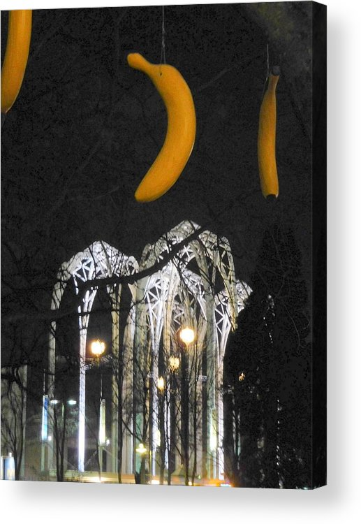 Greeting Card Acrylic Print featuring the photograph Pacific Science Gate by Maro Kentros