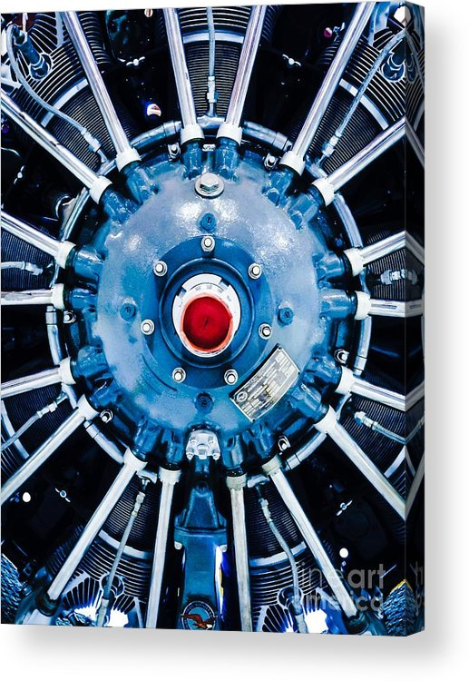 Propeller Acrylic Print featuring the photograph Prepare For Flight by Michael Gailey