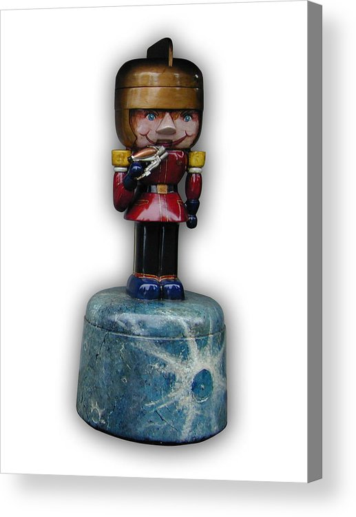 Nutcracker Acrylic Print featuring the sculpture Prince Gordon by Paul Illian
