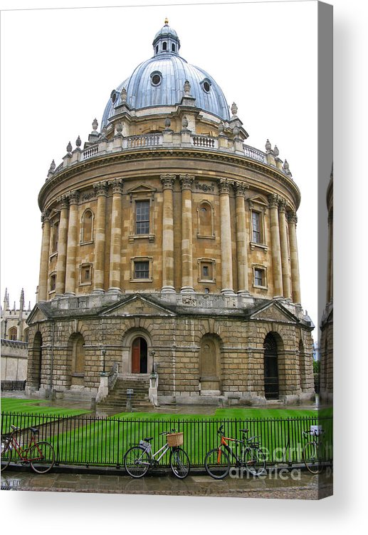Oxford Acrylic Print featuring the photograph Radcliffe Camera by Ann Horn