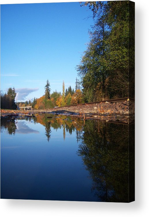 Fall Acrylic Print featuring the photograph Reflection Of Autumn by Ken Day