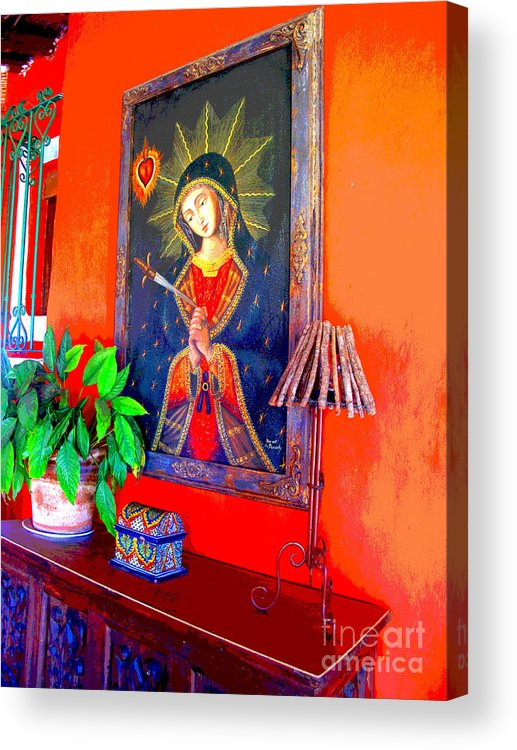 Darian Day Acrylic Print featuring the photograph Reflections By Darian Day by Mexicolors Art Photography