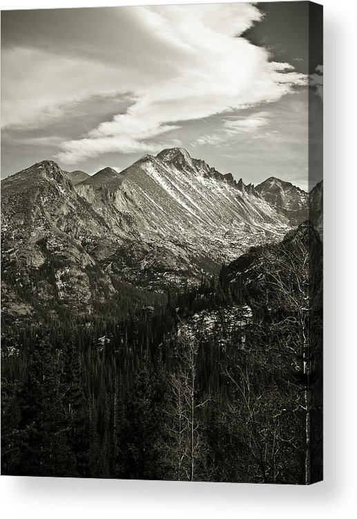 Colorado Acrylic Print featuring the photograph Rocky Mountain Wonders by Marilyn Hunt