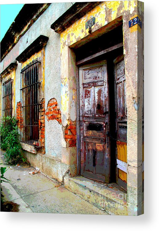 Darian Day Acrylic Print featuring the photograph Ruin By Darian Day by Mexicolors Art Photography