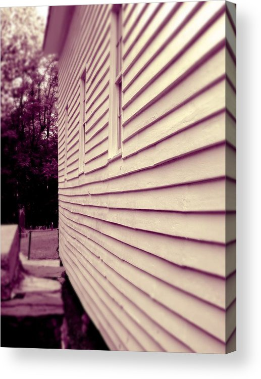 Church Acrylic Print featuring the photograph Serenity by Jessica Burgett