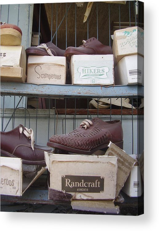 Shoes Acrylic Print featuring the photograph Shoes by Flavia Westerwelle