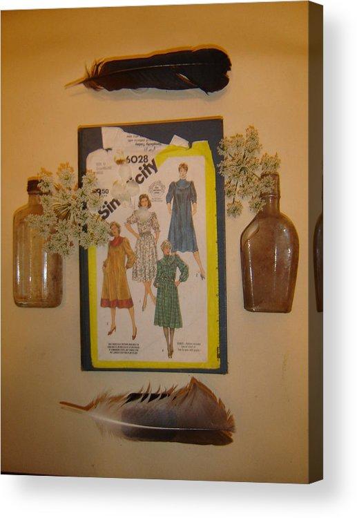 Women Acrylic Print featuring the photograph Simpli by Dean Corbin
