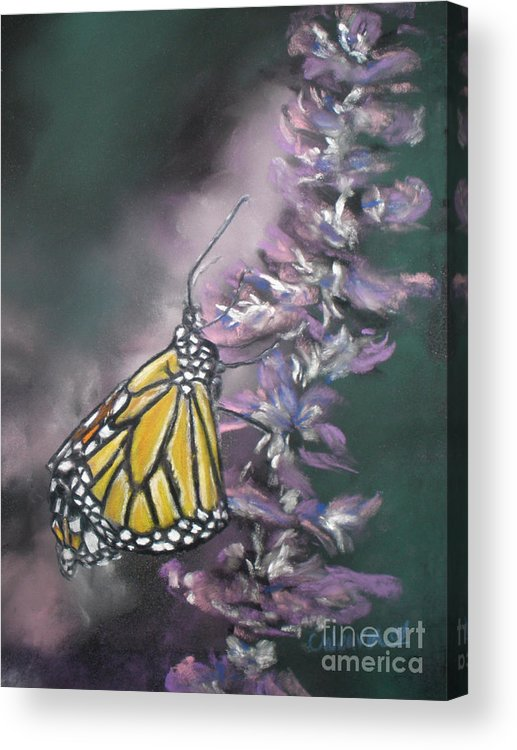 Spring Acrylic Print featuring the painting Spring by Cathy Weaver